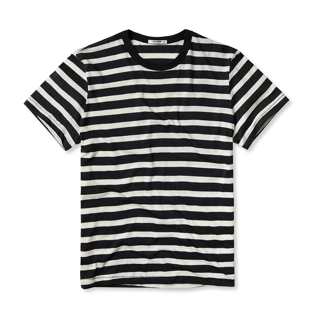 Black and white striped t shirt xxl - The Lightweight Striped Tee 42 00